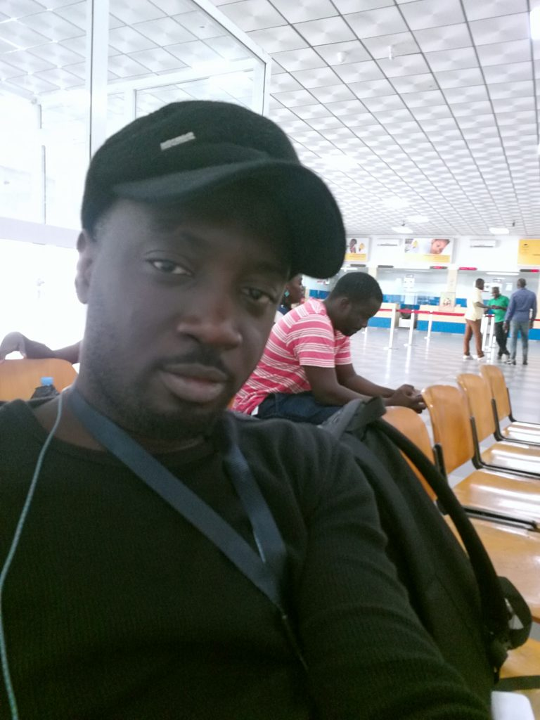 At the Airport in Bissau
