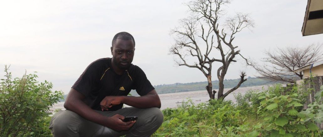 At the banks of the River Congo, Congo Brazzaville.